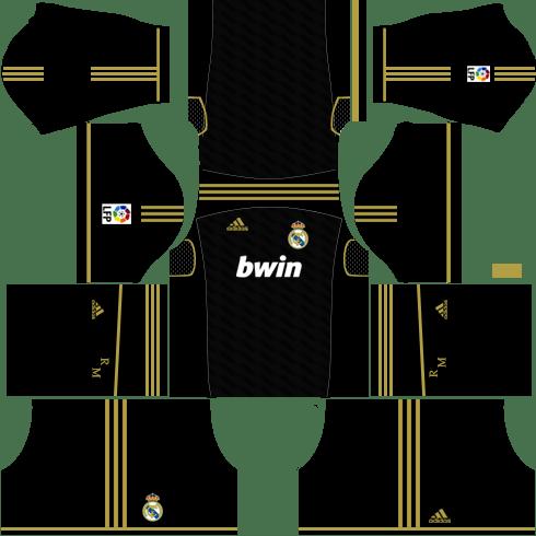 Real Madrid Away Kit 2011-2012