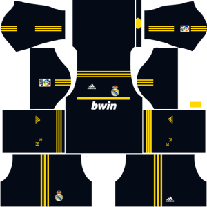 Real Madrid Goalkeeper Away Kit 2011-2012