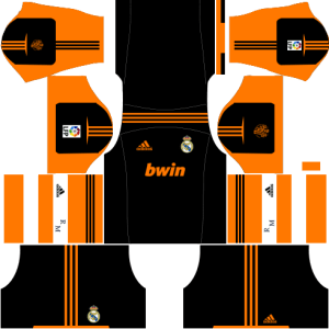 Real Madrid Goalkeeper Away Kit 2012-2013