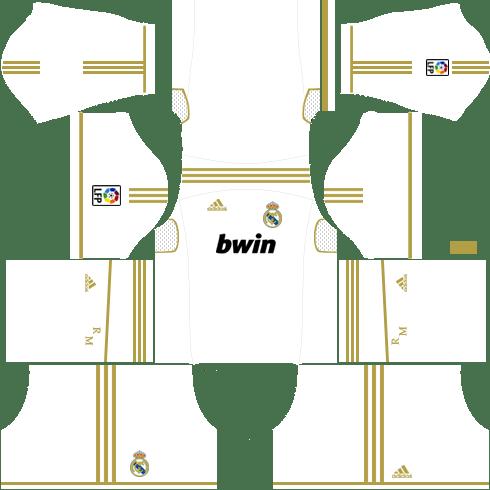 Real Madrid Home Kit2011-2012