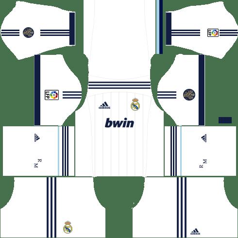 Real Madrid Home Kit 2012-2013