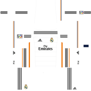 Real Madrid Home Kit 2013-2014