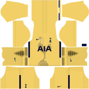 Tottenham Goalkeeper Home Kit DLS 2017 - 2018