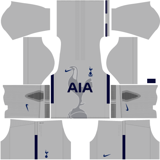 Tottenham Goalkeeper Third Kit DLS 2017 - 2018