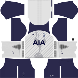 Tottenham Home Kit DLS 2017 - 2018