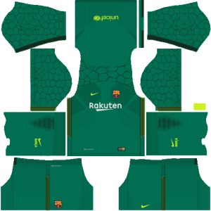 kit barca dream league soccer 2019
