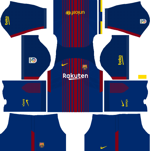 Barcelona Kits & Logo URL (2017-2018 Updated) | Dream ...