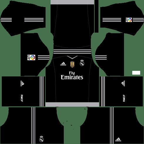 Real Madrid Goalkeeper Away Kit 2015-2016