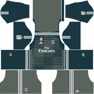 Real Madrid Goalkeeper Third Kit 2018-19 - Dream League Soccer Kits