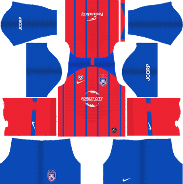 Johor Darul Takzim Home Kits 2019 - Dream League Soccer Kits 2019
