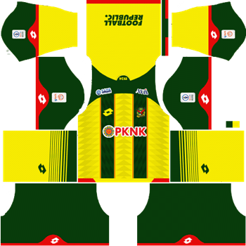 Dream League Soccer Kits - Kedah Home Kit 2019 - DLS 19 Kits