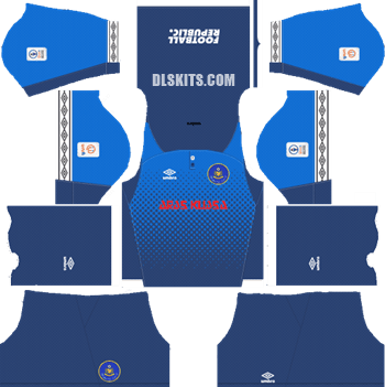 Pahang FA Kit 2019 Goalkeeper Away - Dream League Soccer Kits - DLS 19 Kits