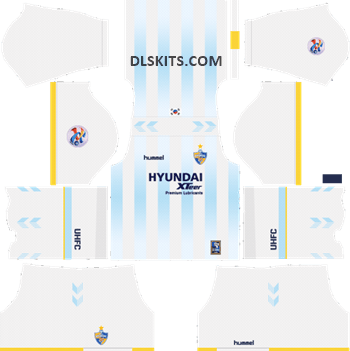 AFC Ulsan Hyundai Away Kit 2019 - DLS Kits - Dream League Soccer Kits URL 512x512