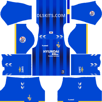 AFC Ulsan Hyundai Home Kit 2019 - DLS Kits - Dream League Soccer Kits URL 512x512