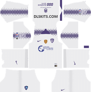 Al-Hilal FC Away Kit 2019 - DLS Kits - Dream League Soccer URL 512x512