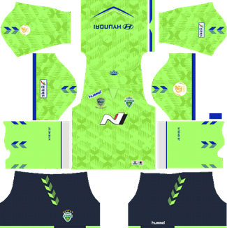 Jeonbuk Hyundai Motors FC Home Kit 2019 - DLS 19 Kits - Dream League Soccer Kits URL 512x512