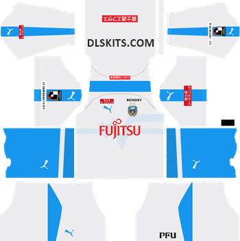 Kawasaki Frontale Away Kit 2019 - DLS Kits - Dream League Soccer Kits URL 512x512