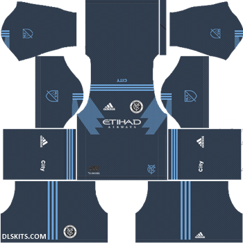New York City FC 2019 Away Kit - DLS 19 Kits - Dream League Soccer Kits 512x512 URL