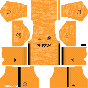 New York City FC 2019 Goalkeeper Home Kit - DLS 19 Kits - Dream League Soccer 512x512 Kits URL