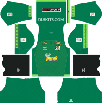 Perak Kit Goalkeeper Home 2019 - DLS Kits - Dream League Soccer Kits 512x512