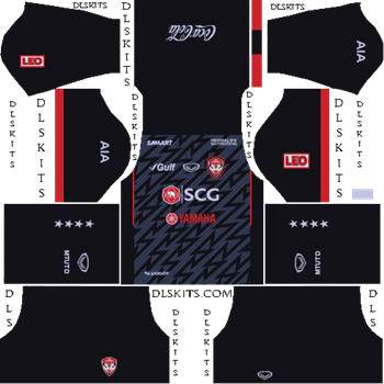 Muangthong United FC Goalkeeper Away Kit 2019 - DLS 19 Kits - Dream League Soccer Kits URL
