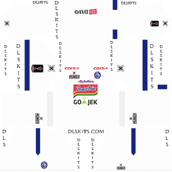 Arema FC Away Kit 2019 - DLS 19 Kit - Dream League Soccer Kits URL