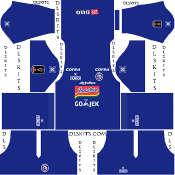 Arema FC Home Kit 2019 - DLS 19 Kit - Dream League Soccer Kits URL