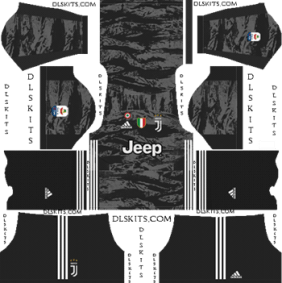 Juventus Goalkeeper Home Kit 2019-2020 - DLS 19 Kits - Dream League Soccer
