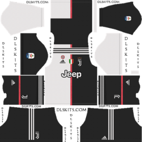 Juventus Home Kit 2019-2020 - DLS 19 Kits - Dream League Soccer Kits URL 512x512