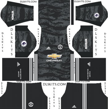 Dream League Soccer Kits Manchester United Goalkeeper Away Kit 2019-20
