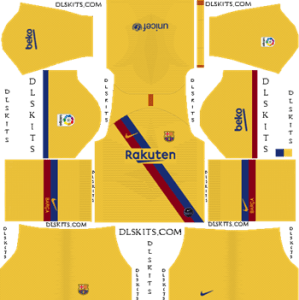 Dream League Soccer Kits Barcelona Away Kit 2019-2020