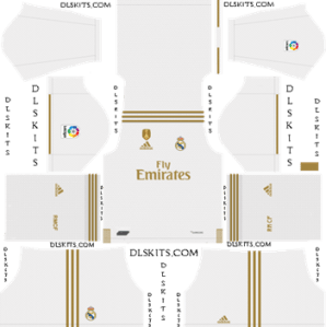 Dream League Soccer Kits Real Madrid 2019-20 Home Kit