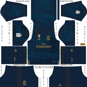 Dream League Soccer Real Madrid Away Kit 2019-20