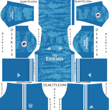 Dream League Soccer Kits Arsenal Goalkeeper Away Kit 2019-20