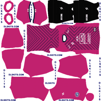Arema FC Goalkeeper Home 2020-21 Dream League Soccer Kits