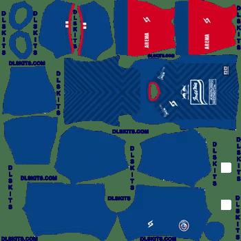 Arema FC Home 2020-21 Dream League Soccer Kits