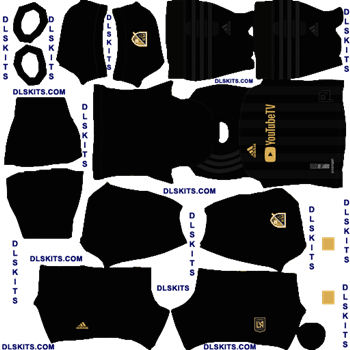 LAFC 2020 Home Dream League Soccer Kits