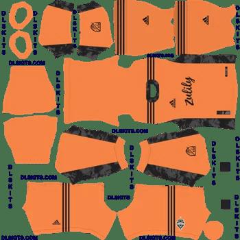 Seattle Sounders FC Goalkeeper Home Dream League Soccer Kits 2020