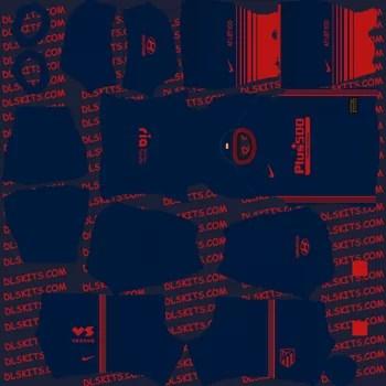 Atletico Madrid Away Kit 2020 - Dream League Soccer Kits - DLS 20 Kits