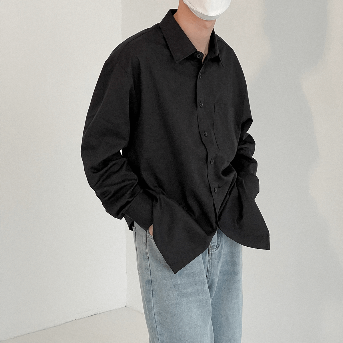 Рубашка DAZO Studio Basic Large Pocket Shirt (2)