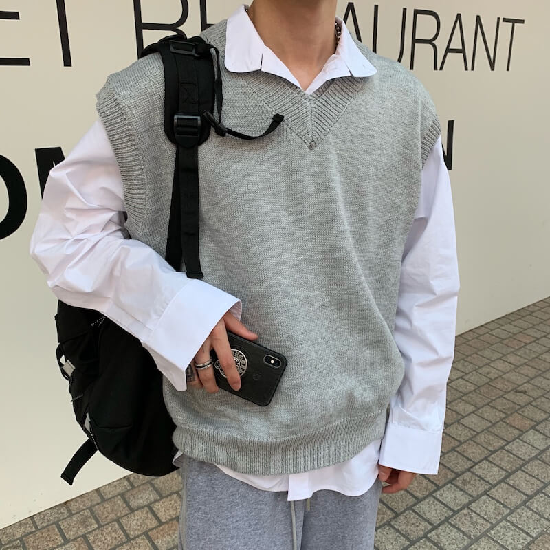 Жилет Cui Layout Studio Wool Vest V-Neck (9)