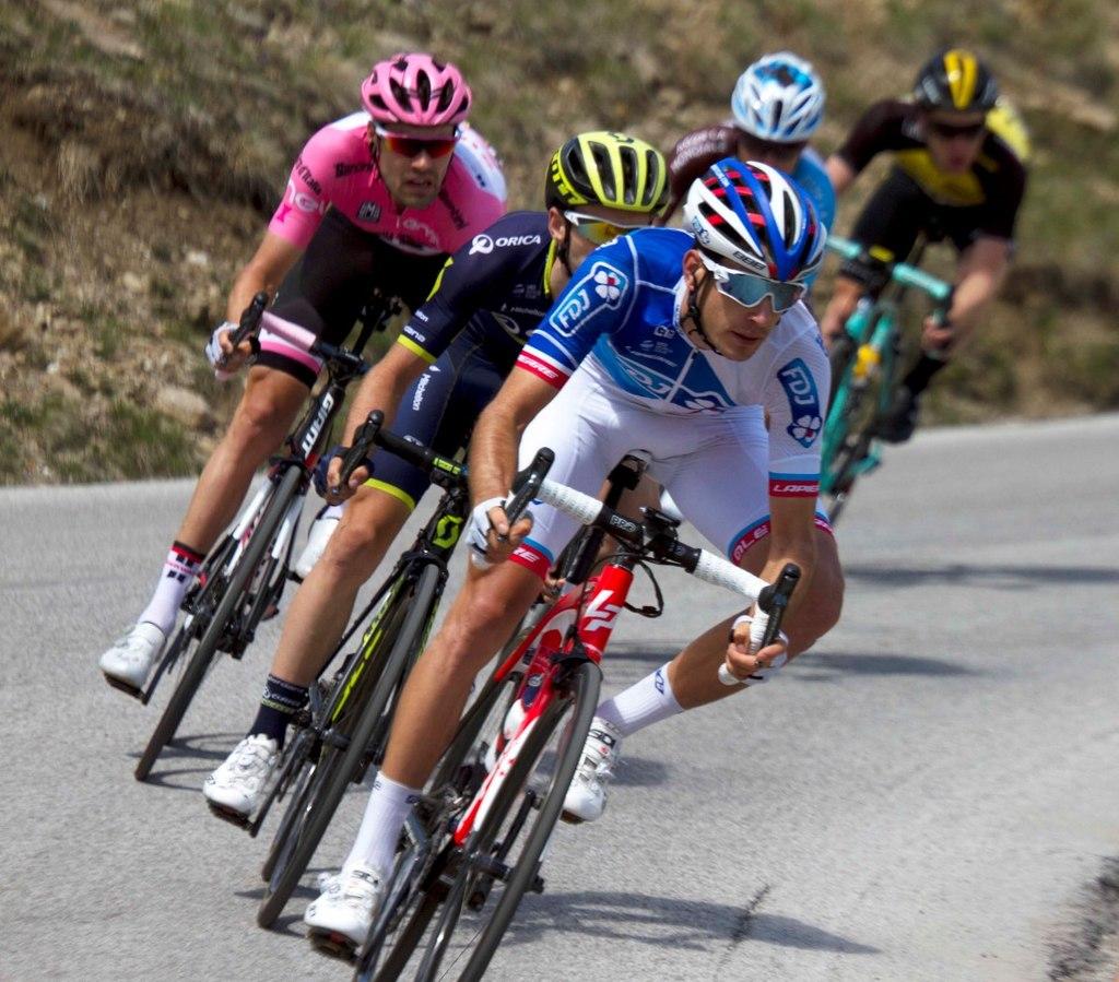 Kadr z wyścigu Giro d'Italia 2017