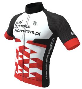 projekt koszulki długi dystans rowerem