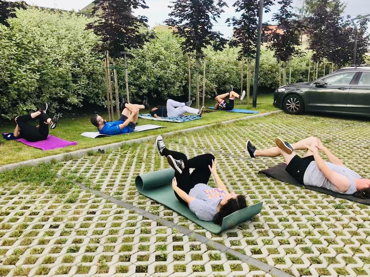 trening mięśni głębokich