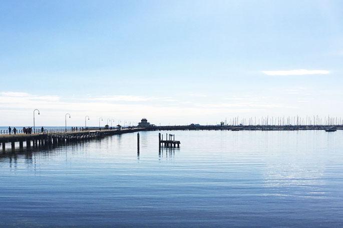 St. Kilda Pier, Melbourne.