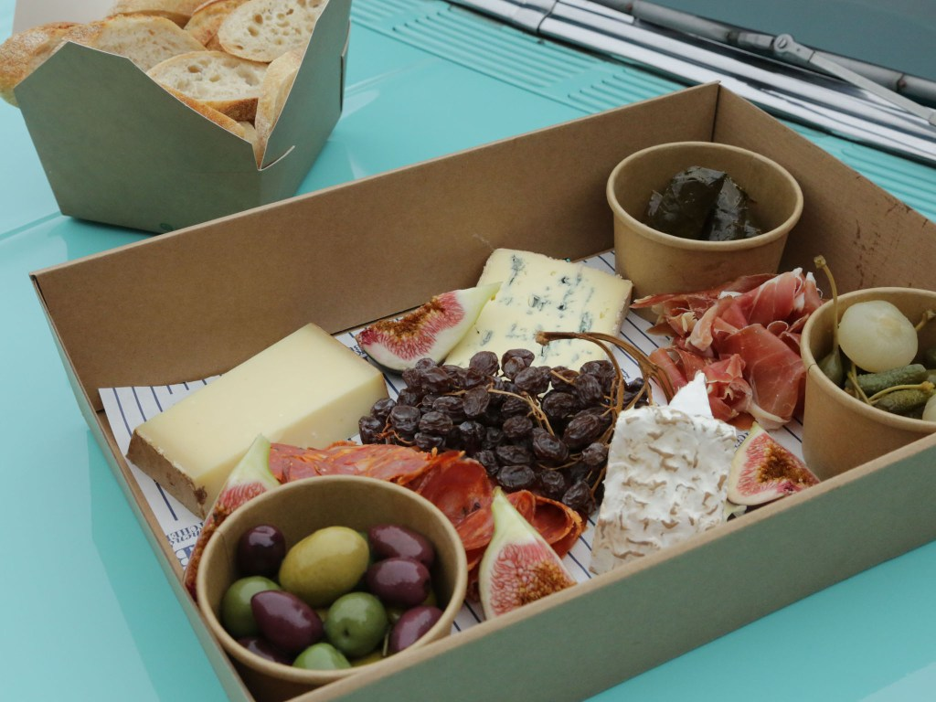 Picnic food from Kitchen & Butcher.
