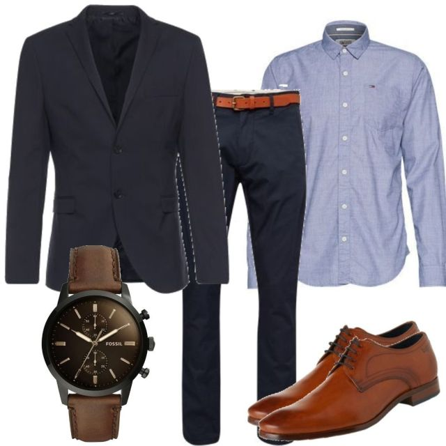 Wie Mann sich kleidet Business Casual Outfit Guide