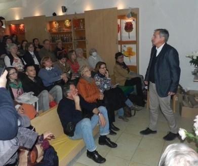 Predavanje dr. Marka Dobriloviča o vključevanju vrtnic v javne in zasebne vrtove.