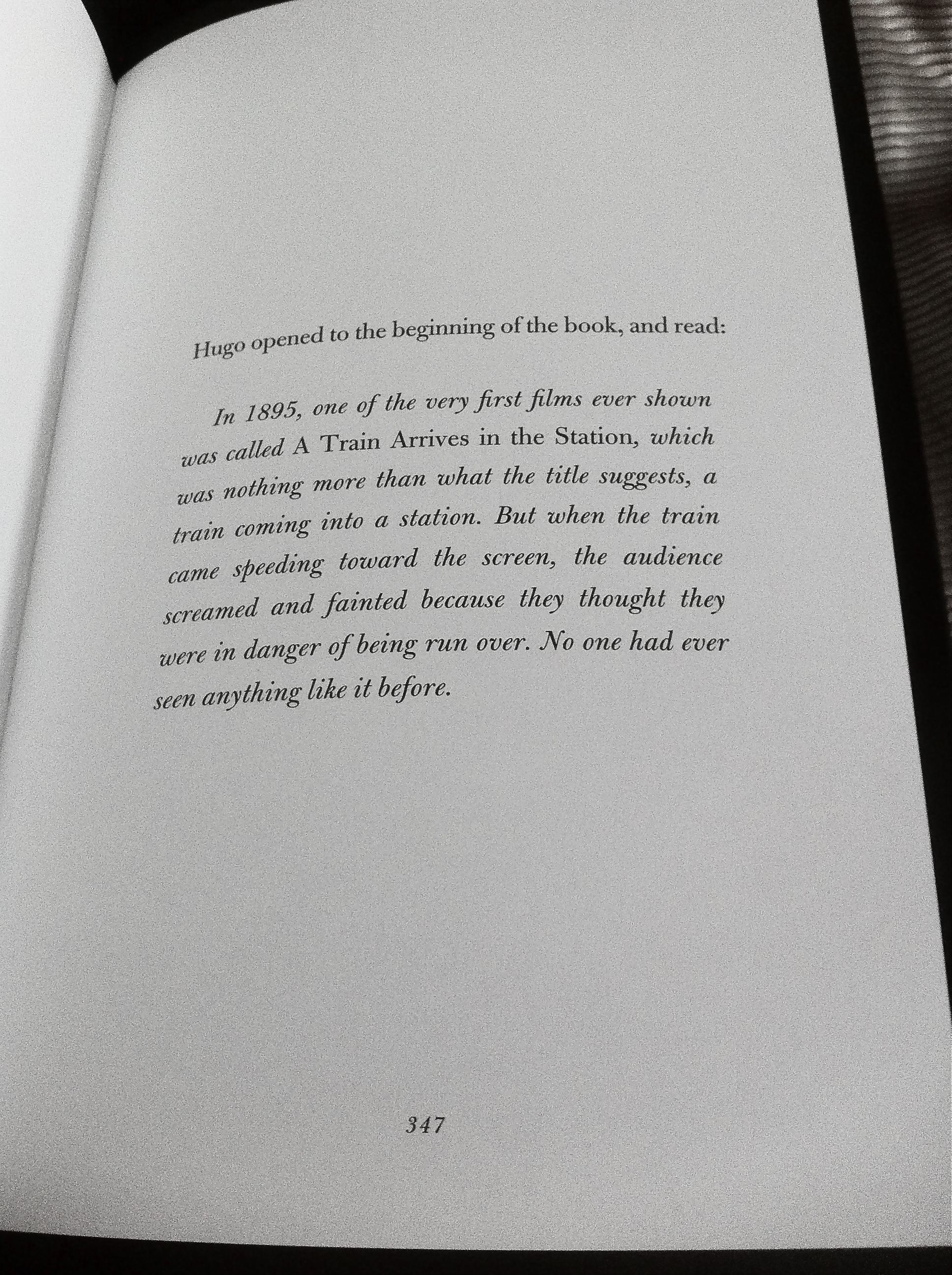 Pg 347 From The Invention Of Hugo Cabret We Have Been