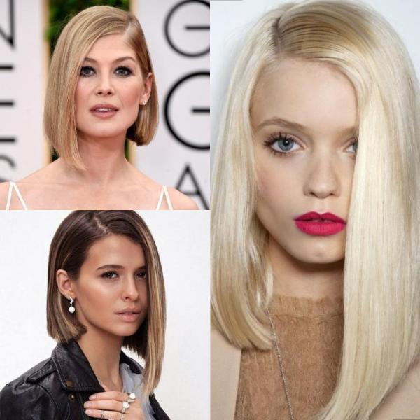 Модные женские стрижки на средние волосы 2018 (35 фото ...